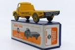 """Dinky Toys Leyland Comet plateau """"Ferrocrete"""" (nuances de jaune)"""