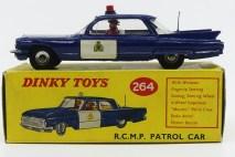 Dinky Toys Cadillac 62 RCMP (Canada)