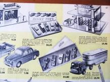 catalogue du Bon Marché de Mr Claude Wagner avec le fameux coffret Solido...plus cher que le Dinky Toys ! c'était prémonitoire !