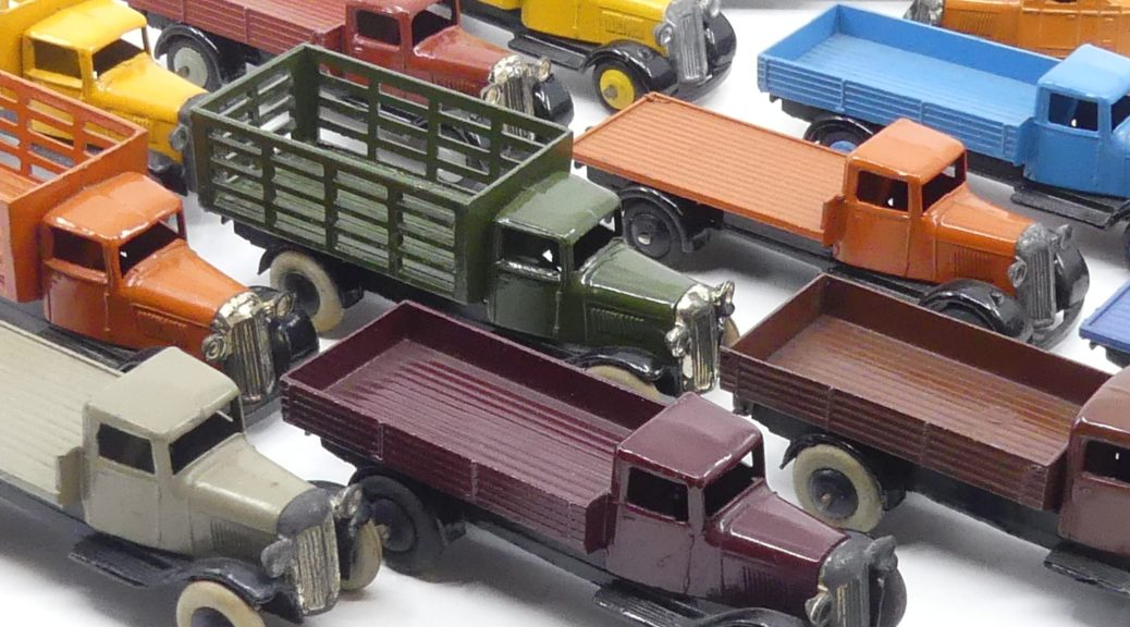 Dinky Toys 25 camions