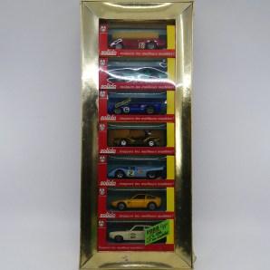 """coffret """"Luxe"""" avec 7 véhicules de la série 100 avec son couvercle transparent"""