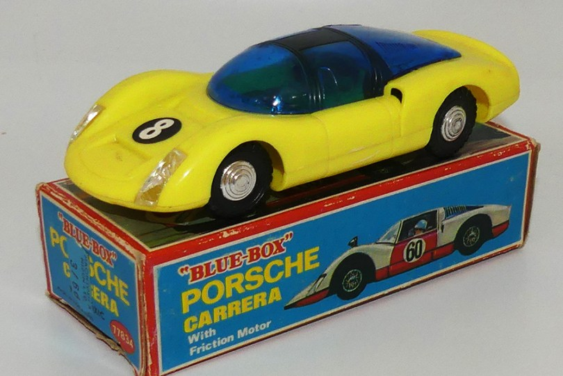 Blue Box Porsche Carrera 6