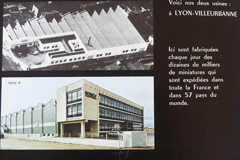 Norev : les deux usines