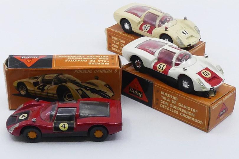 Buby (Argentine) 1/43 Porsche Carrera 6