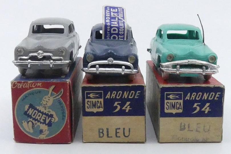 Norev Simca Aronde trois calandres