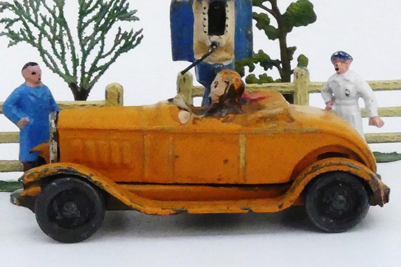 """""""Les jouets Citroën"""" Citroën C4 torpédo"""