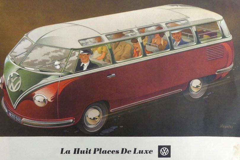 """catalogue publicitaire Volkswagen """"la huit place de luxe """" au féminin comme une automobile !"""