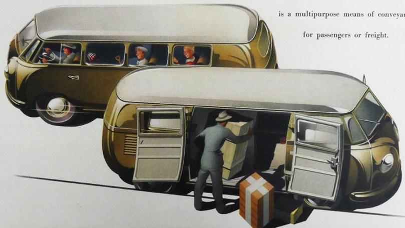catalogue publicitaire Volkswagen : multi fonctions