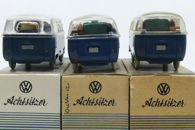 Wiking (Allemagne) VW Kombi type 1 1950 premier chassis