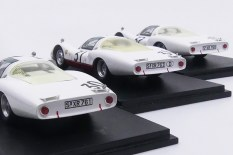 Spark: l'armada Porsche 906L lors de l'édition du Mans 1966