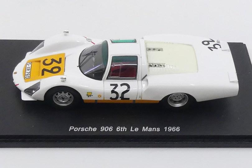 Spark Porsche 906 L Nr 32 Le Mans 1966 : quel réalisme !