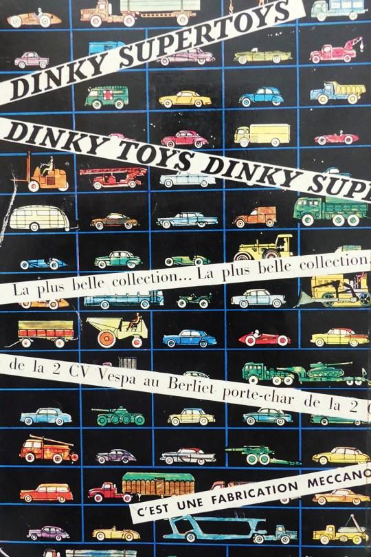 Dinky Toys publicité paru dans le catalogue du CIAM