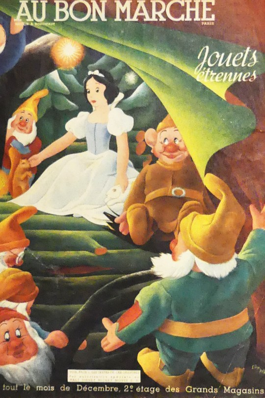 catalogue Bon Marché Noël Etrennes 1938