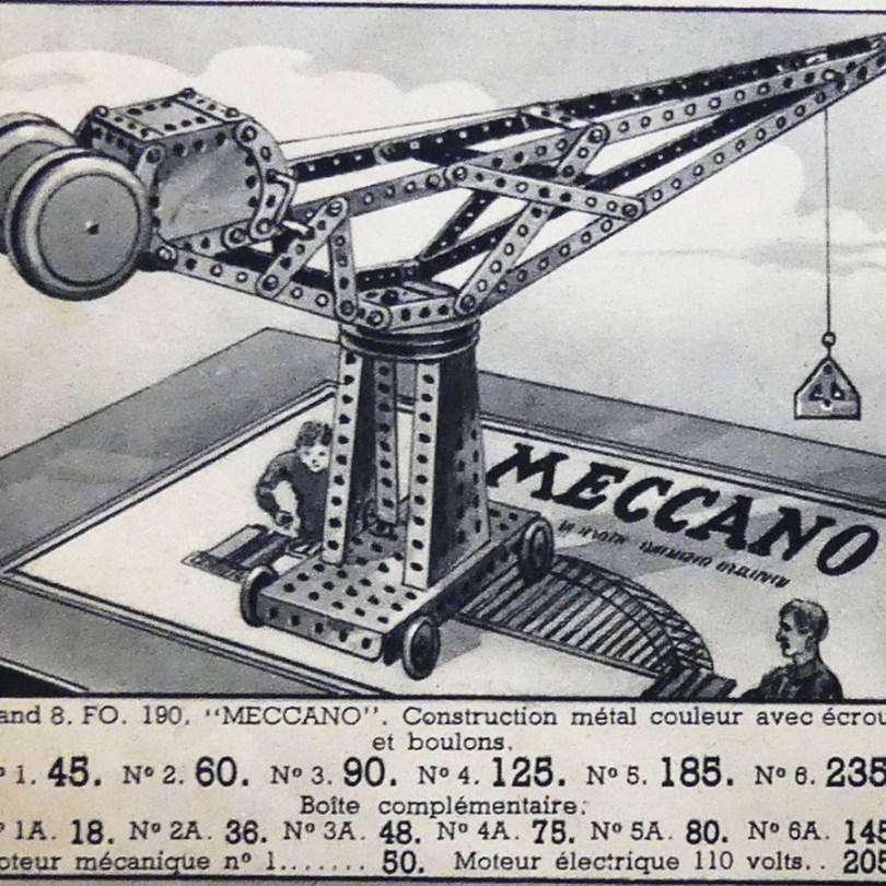 catalogue Bon Marché Noël Etrennes 1938 avec divers jouets en tôles