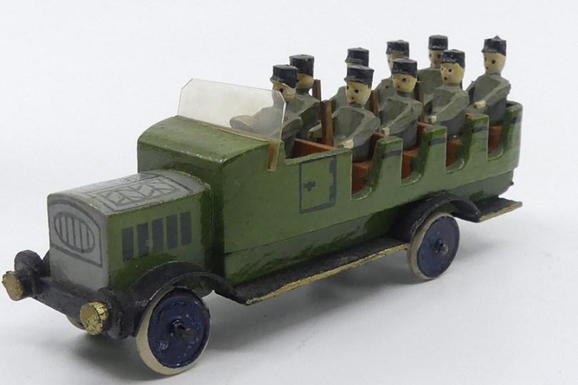 Erzegebirge véhicule transport de troupe de police III reich