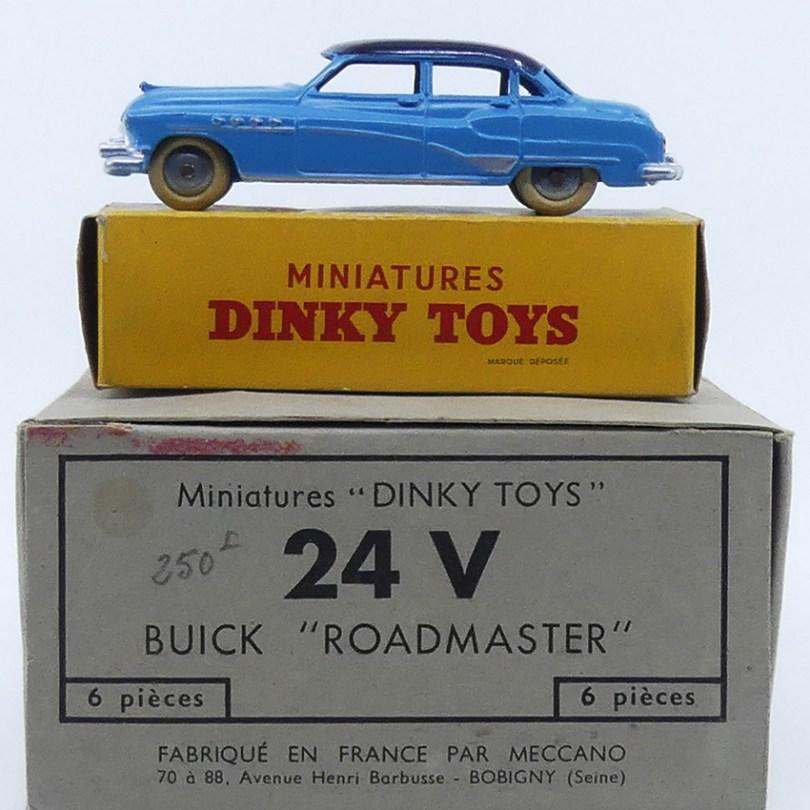 Dinky Toys Buick Roadmaster avec boîte Miniature et boîte de six pièces