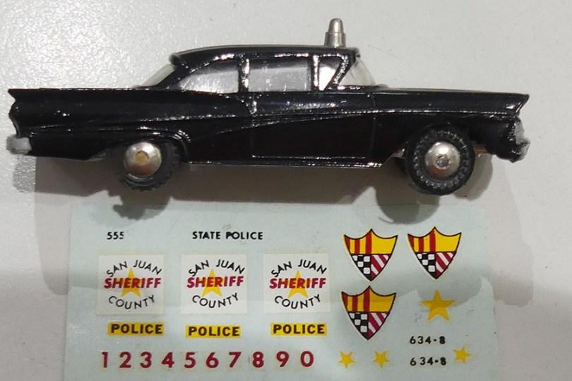 Hubley Ford Fairlane police USA