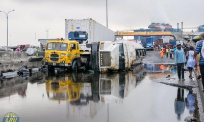 container truck in lagos