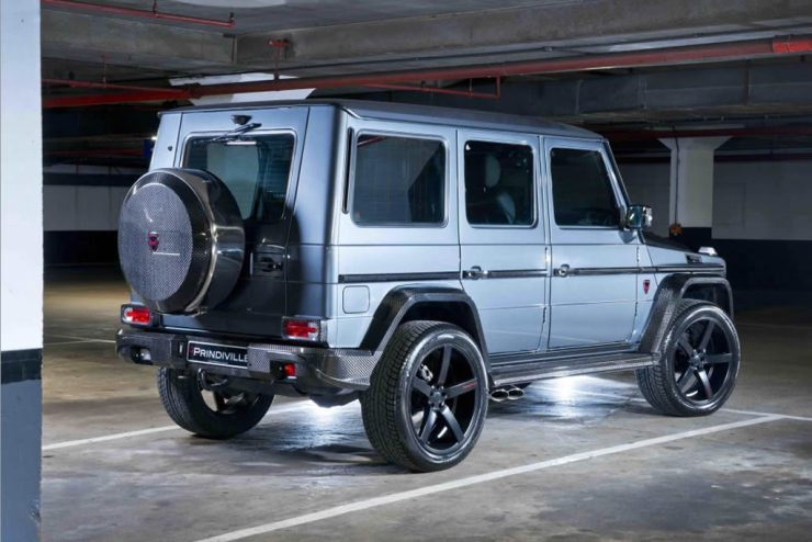 wealthy kids burn N60m benz g wagon