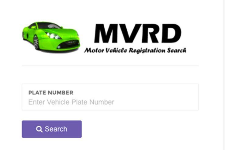 verify vehicle number plates