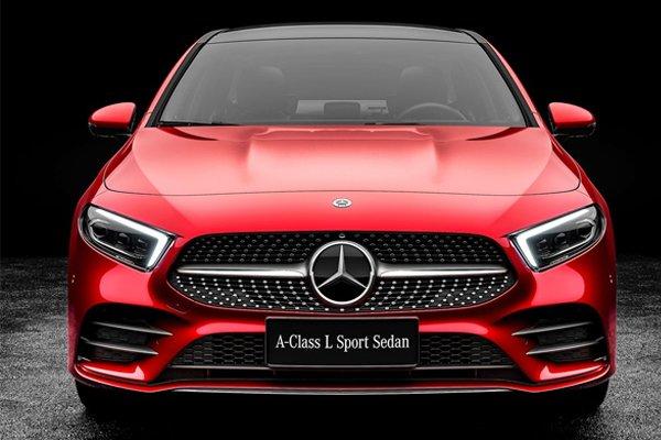 2019 Mercedes Benz A Class Now Comes As A Saloon Car Too Photos