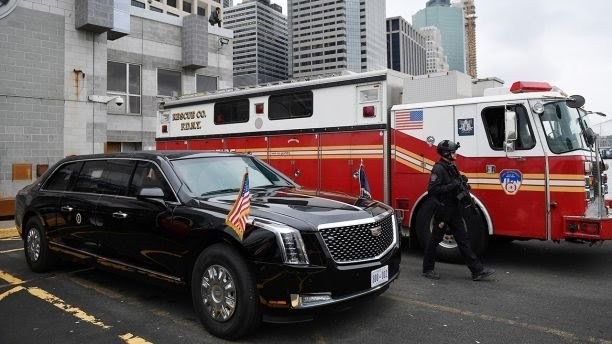 See Donald Trump's Brand New Presidential Armoured Beast Limousine