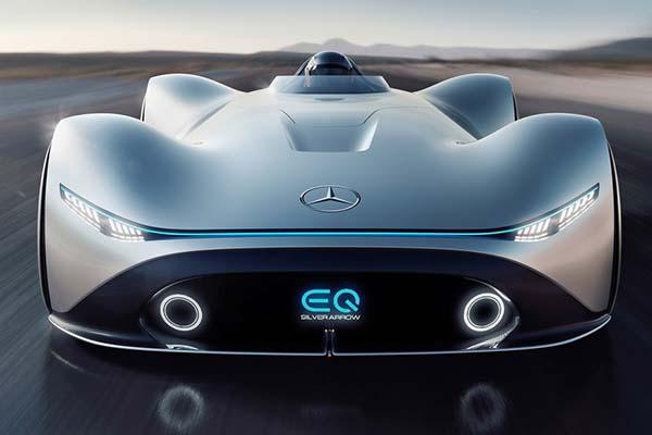 CONCEPT CARS2018 Mercedes Benz Vision EQ Silver Arrow Unveiled