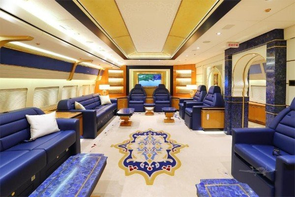 "Inside Turkey's Half A Billion Pounds ""Flying Mansion"" Plane Gift From Qatari's Ruler"