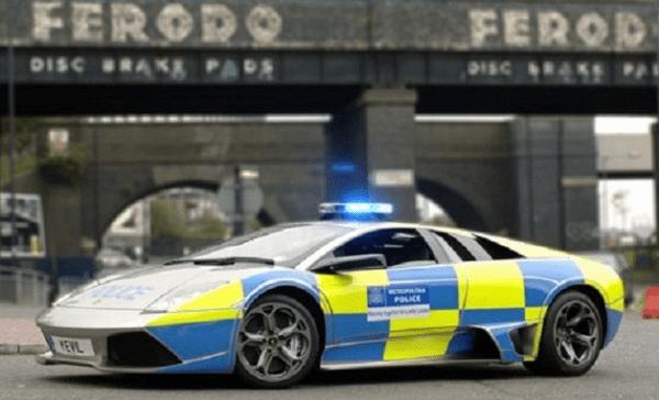 england police car