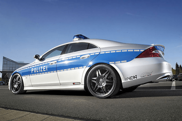 germany police car