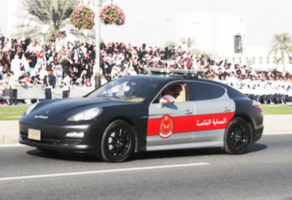 abu dhabi police car