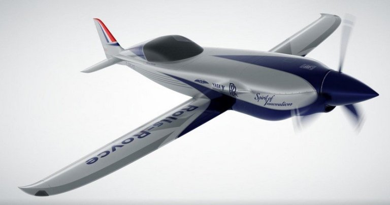 Rolls Royce Is Building The World's Fastest Electric-Powered Aeroplane