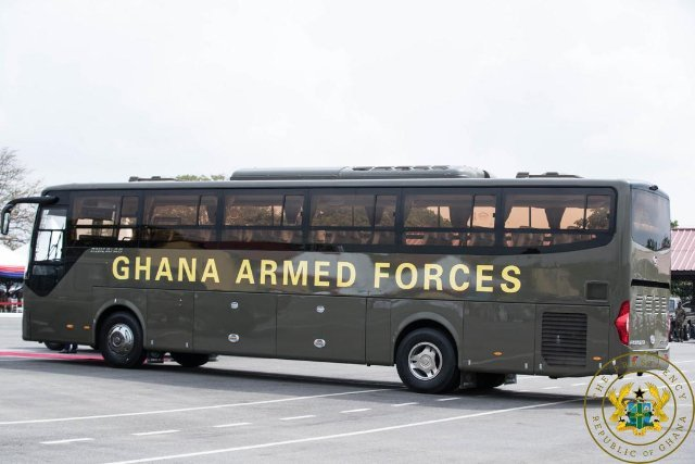Vehicle of the Ghana forces