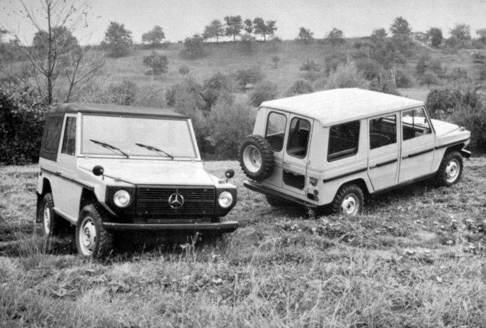 40th Anniversary Of The Mercedes Benz G-Class