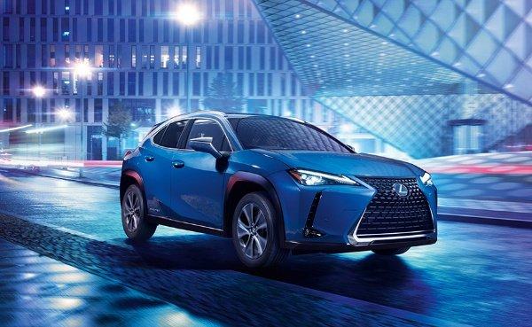 Lexus UX 300e SUV: Lexus Unveils First Electric Vehicle