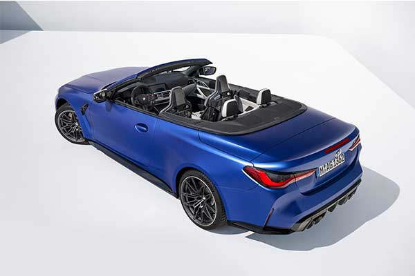 BMW M4 Competition Gets A Convertible Version With xDrive Only Model
