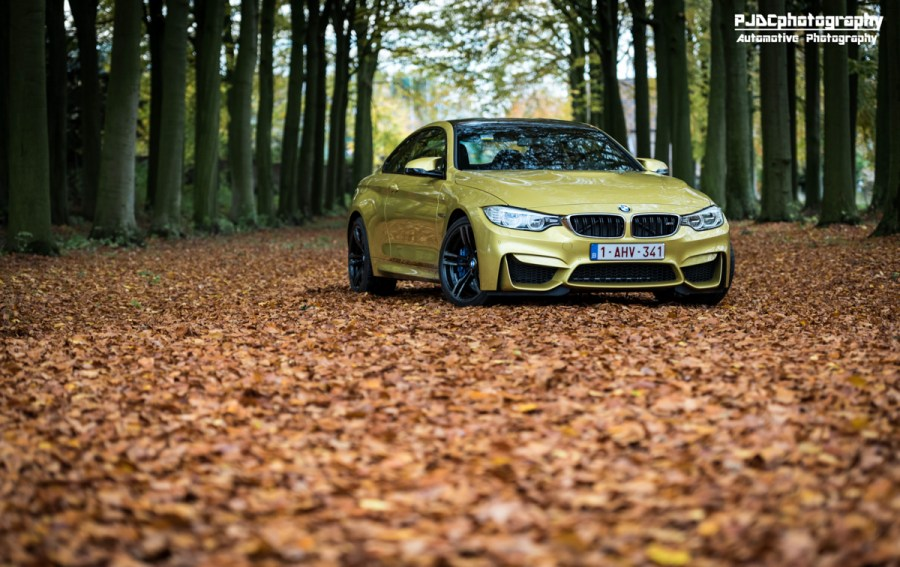 BMW M4 Austin Yellow