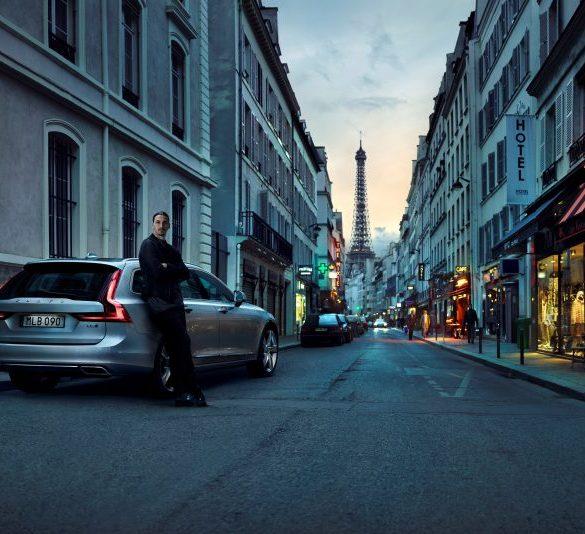 Zlatan Ibrahimovic Volvo V90