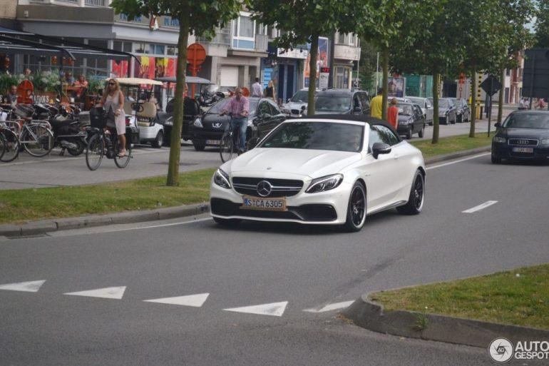 Mercedes-AMG C63 s cabriolet