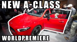 VLOG | World Premiere New Mercedes A-Class