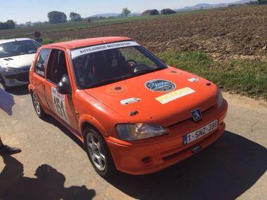 peugeot 106 rallycar