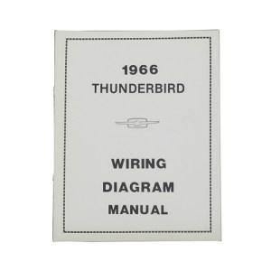 1966 Ford Thunderbird WIRING DIAGRAM MANUAL  66 THUNDERBIRD
