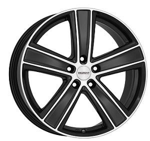 Dezent TH 7,5X17/5X112 ET32 DIA70,1 Black/polished front