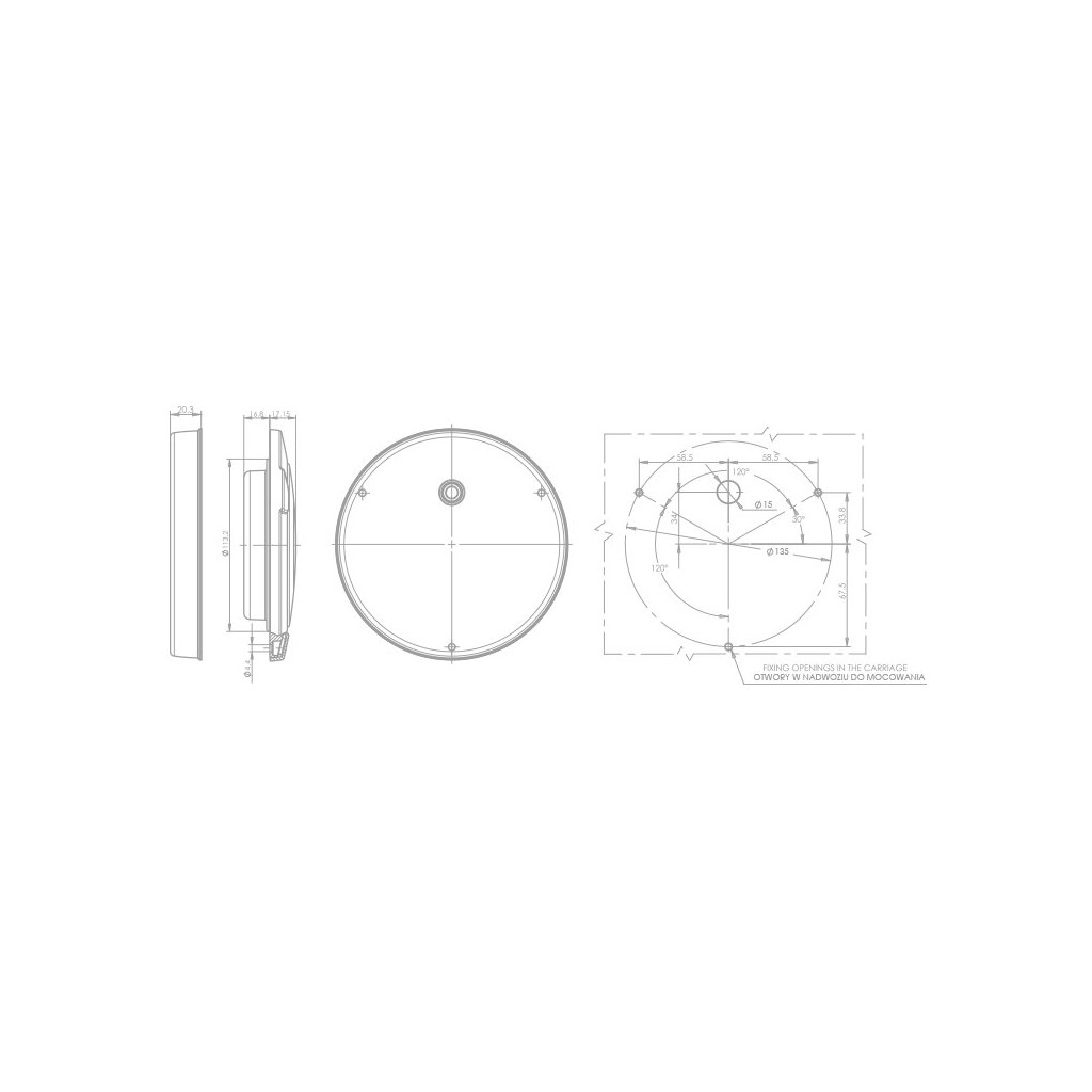Led Rear Direction Indicator Lamp 12v 24v