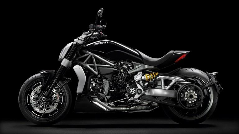 Ducati XDiavel side looks