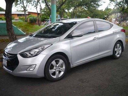 Hyundai Elantra 2012 en managua nicaragua 2