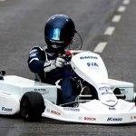 Kart eléctrico de la FIA debutó en la Fórmula E