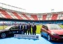 BMW presenta nuevo vehículo oficial del Atlético de Madrid