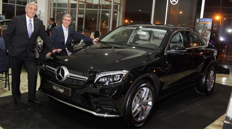 Mercedes-Benz presentó para Ecuador su nuevo GLC Coupé