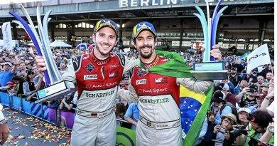 Doblete en casa para Audi en la Fórmula E